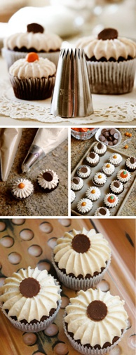 Fabulous finds: Giant French pastry tip for decorating mini and regular sized cupcakes.