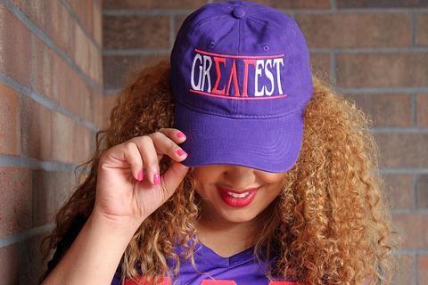 "Sigma Lambda Gamma ""Greatest"" Adjustable Hat"