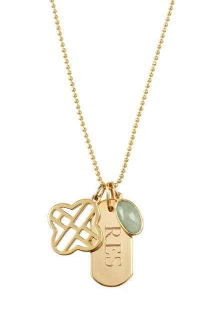 www.stelladot.com/ashleymabe The Clover Alphabet Charm Collection –the perfect addition to your personalized charm necklace.