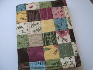 Tutorial: Forro de cuaderno en patchwork                                                                                                                                                                                 Más