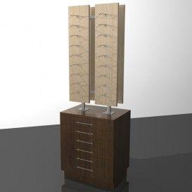 Κεντρικό Έπιπλο Οπτικών Με Συρτάρια - http://goo.gl/2xUPIl