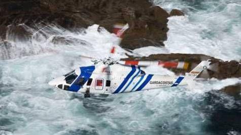 """""""Nobel de la aviación"""" para la tripulación del Sikorsky S-76C+ del Servicio Guardacostas de Galicia -noticia defensa.com"""