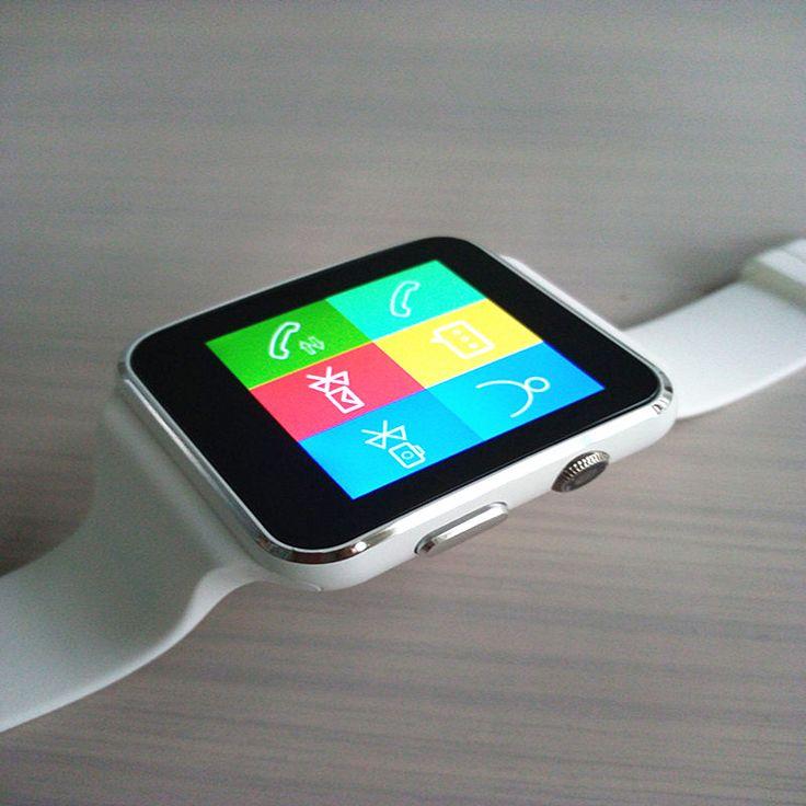 2016 neue weiß schwarz Bluetooth Smart Uhr X6 Smartwatch sport Für Apple Android-handy Mit Kamera FM Unterstützung SIM karte //Price: $US $63.80 & FREE Shipping //     #smartwatches