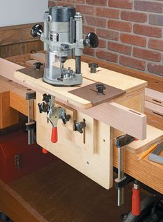 Router Mortising Jig Woodsmith Plans Selbermachen Holz