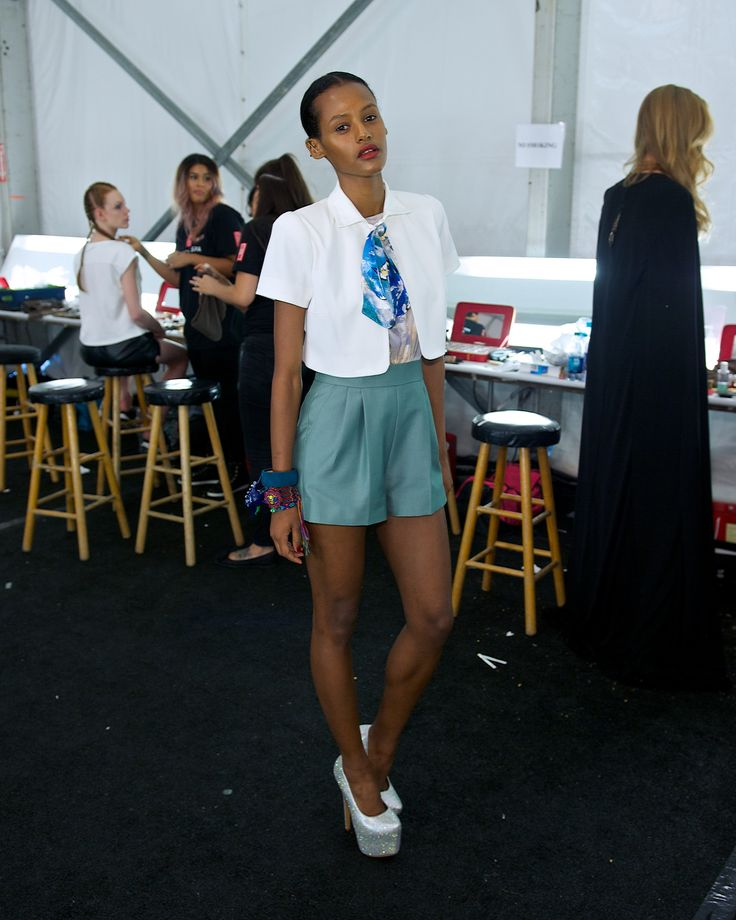 Hair, Nails And Makeup Done By #RedDoorSpa. #NYFW