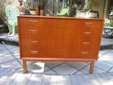 BORGE MORGENSON TEAK BACHELORS CHEST DANISH MODERN MID-CENTURY 60'S 70'S For the entry.