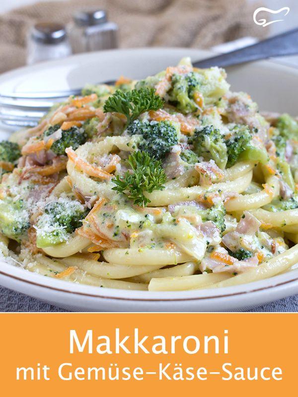 Un délice culinaire réussit avec la recette italienne de macaronis aux légumes …   – Essen
