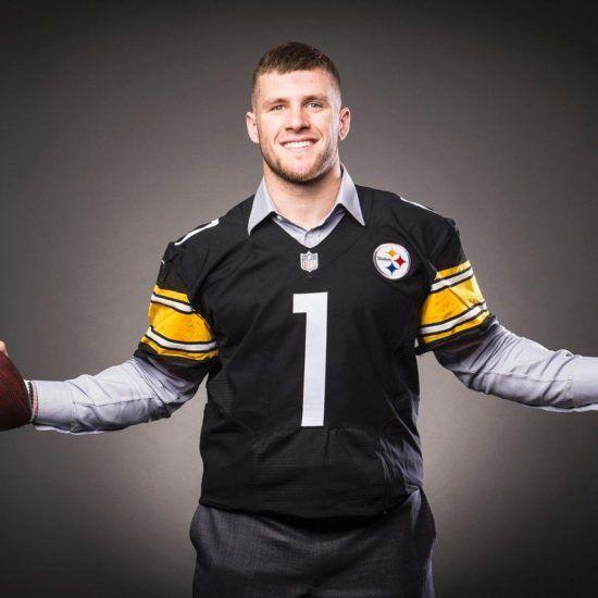 Pittsburgh Steelers 2017 1st Round Draft Pick , LB T.J. Watt.