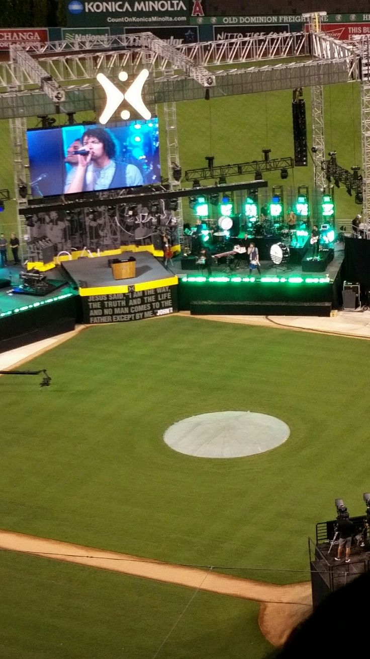 For King and Country at Harvest Crusade