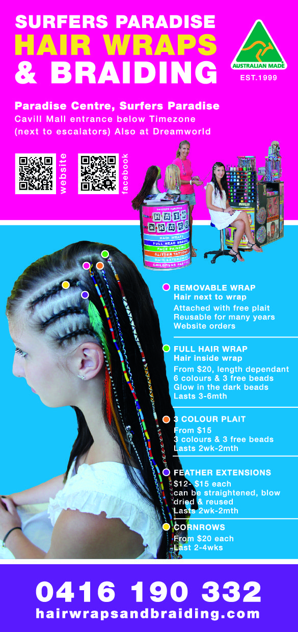 60 best surfers paradise hair wraps and braiding images on paradise centre cavill mall surfers paradise qld 4217 australia pmusecretfo Gallery