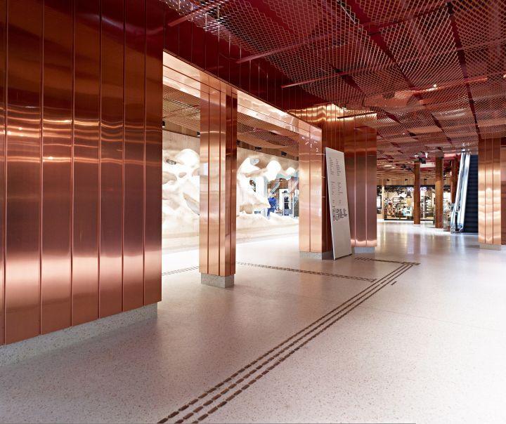 Paleet shopping center, Oslo   Norway restaurant fashion cafe bar