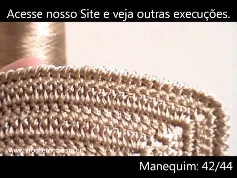 Vídeo-Aula Biquíni de Crochê - YouTube