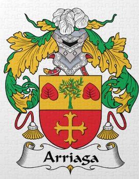Arriaga family crest