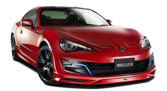 Toyota Perkenalkan Mobil Konsep Toyota 86 Modellista http://j.mp/Toyota86Modellista