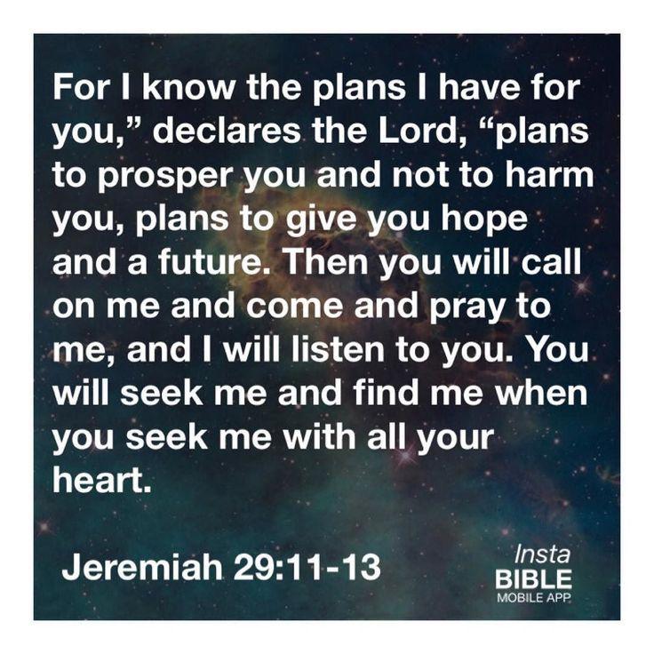 1000 ideas about jeremiah 29 on pinterest jeremiah 29 - Jer 29 11 kjv ...