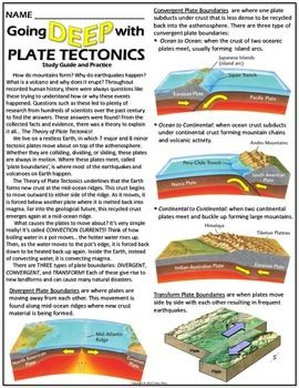 Worksheet Tectonic Plates Worksheets For Kids 8 best the world is interesting images on pinterest earth this worksheet helps students understanding of plate tectonics and how plates interact with one another at