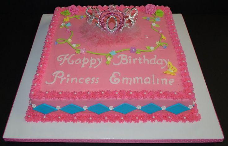 princess sheet cakes - Google Search
