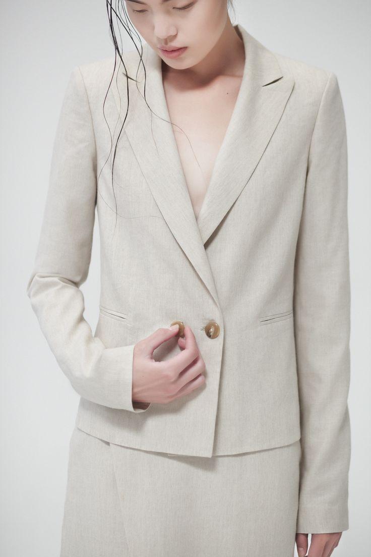 Nava Organic Linen Blazer Nava Organic Linen Skirt