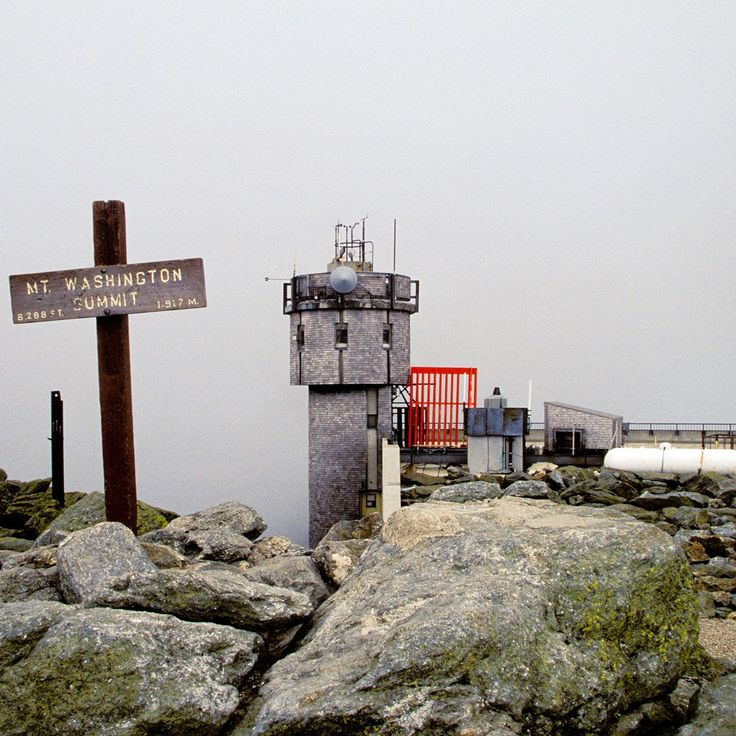 New Hampshire Mt. Washington Observatory #vacationsplaces