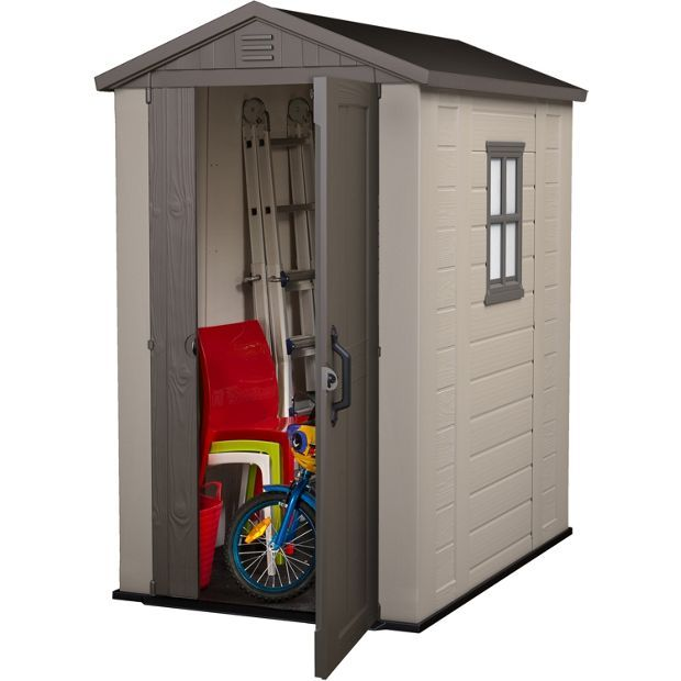 Buy Keter Apex Plastic Garden Shed - 6 x 4ft at Argos.co.uk - Your Online Shop for Sheds, Sheds and bases, Conservatories, sheds and greenhouses, Home and garden.