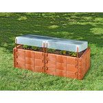 8 ft x 8 ft Western Red Cedar Raised Garden Bed – Juanita Christman