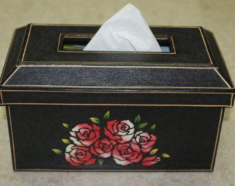 Tissue Box Cover - Korea paper crafts