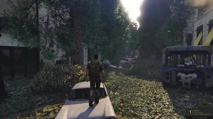 Mod turns GTA V into The Last of Us