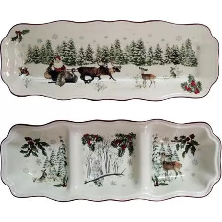 Better Home And Gardens Christmas Ideas 79 best better homes gardens holiday heritage dinnerware better homes and gardens heritage appetizer and divided tray set workwithnaturefo