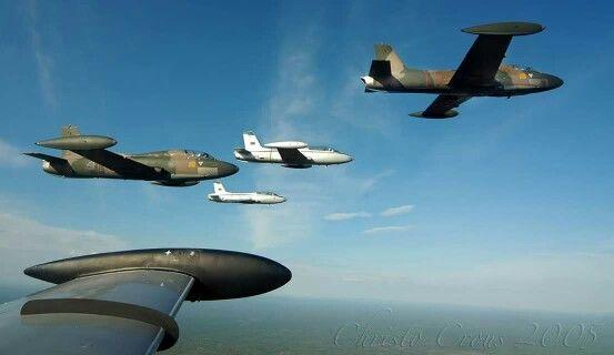 SAAF Impala - The last formation flown