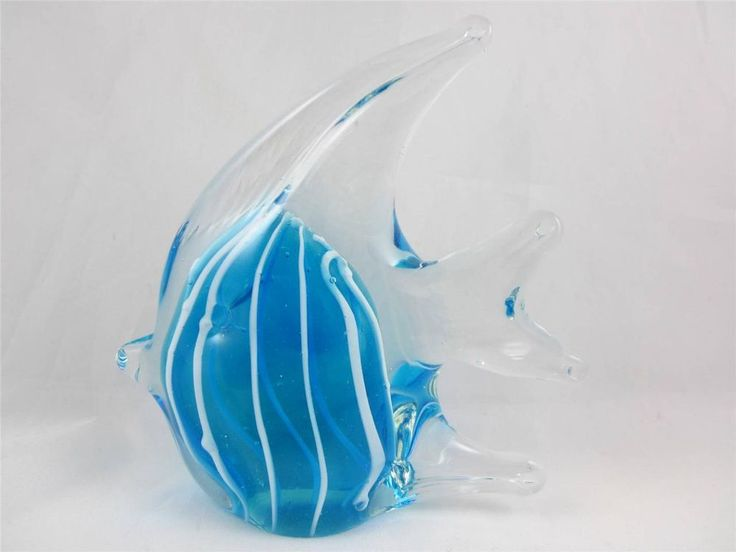 Blown glass angel fish - photo#24