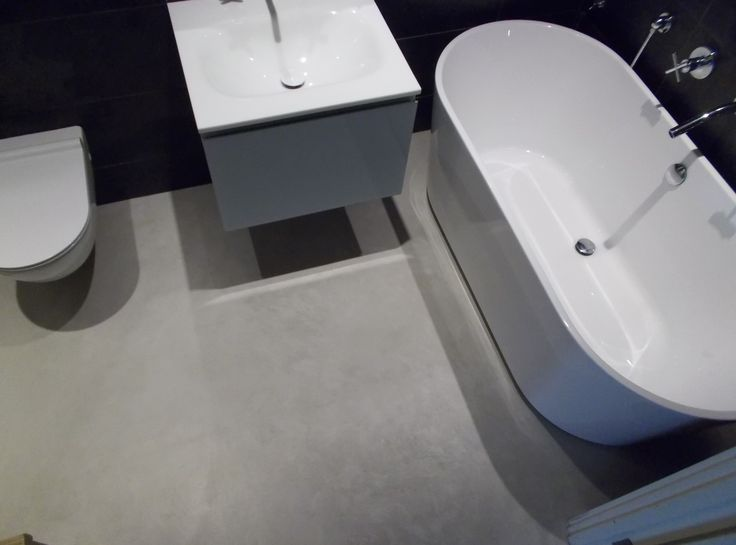 Photo Album For Website Wetroom Bathroom floors and no grout lines Polished Concrete