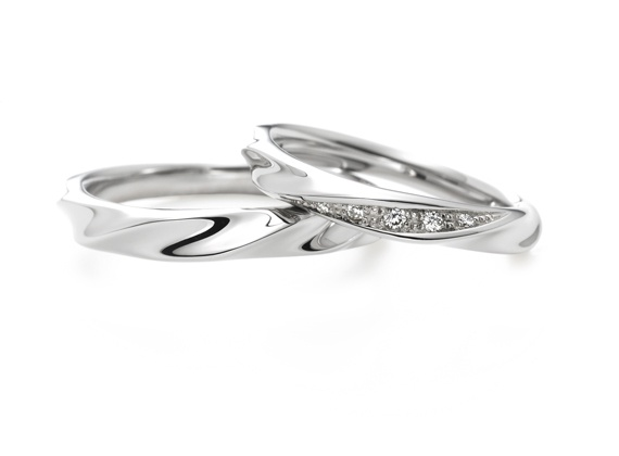 "i-primo: wedding ring ""meteor"""