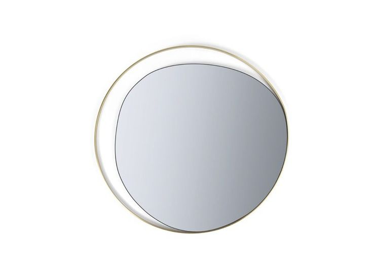 Miroir rond mural ELLIPSE by RED EDITION