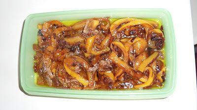 Le mie ricette online: Peperoni con acciughe in agrodolce...