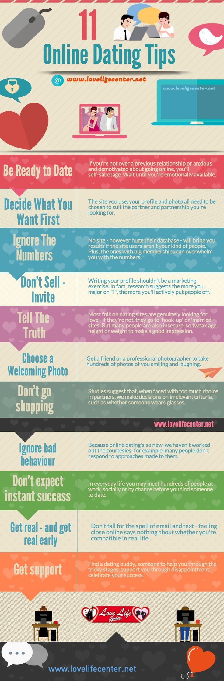 11 Online Dating Tips   #OnlineDating #DatingTips #infographic