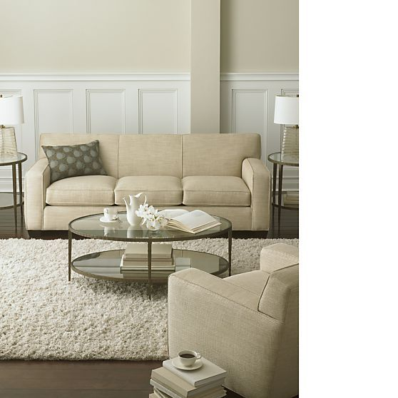Clairemont Coffee Table In Side, Coffee Tables | Crate And Barrel