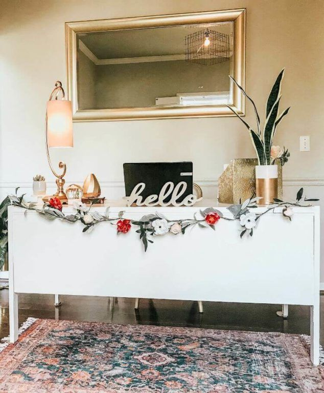 Small Home Office Decorating Ideas On A Budget | Diy home ...