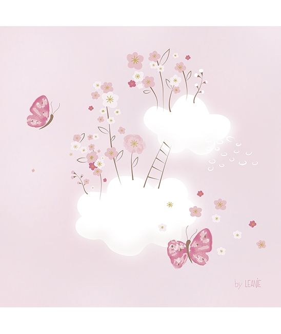 137 best cute clouds backgrounds images on pinterest - Tableau chambre bebe garcon ...