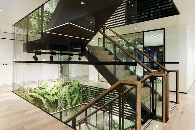 Foyer Staircase Qld : Best interior stairs voids images on pinterest