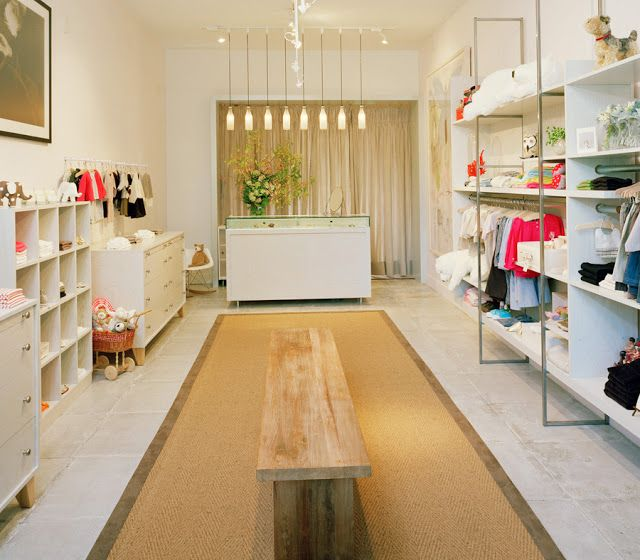 Imagine These: Retail Interior Design | Children Fashion Store,Milk | Oakland, California By Nilus Designs