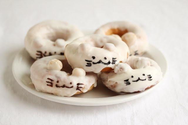 ちょっと作りたいんだけどう。。。: Mouse Doughnuts, Mouse Shaped, Mouse Glazed, Shaped Glazed, Kid S Things, Kids, Donut Mice, Mice Doughnuts