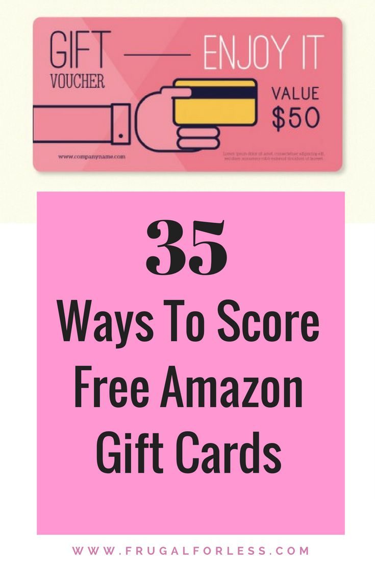 Looking for a FREE Amazon Gift Card? These 35 money making sites will help you earn cash, gift cards and other prizes. This is a great way to make money from home and improve your side hustle. Keep in mind that all of these sites that pay are 100% free and will never ask your your payment information. https://www.frugalforless.com/free-amazon-gift-cards/