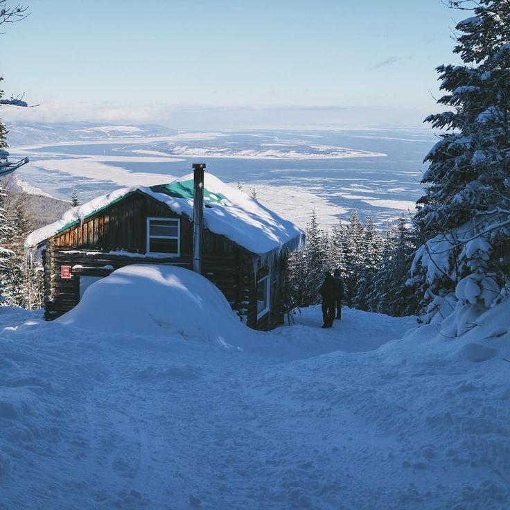 Les sentiers des caps définitivement ma place préfère pour le ski de fond! #charlevoix #sentiersdescaps #quebecoriginal #explorecanada