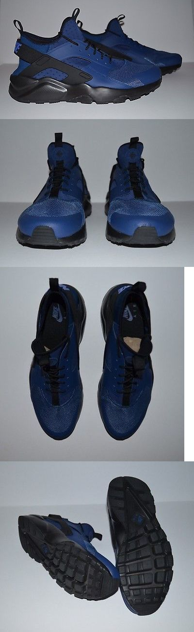 Men Shoes: Nike Air Huarache Ultra Low Running Shoes - Men S Size 15 - Blue Black -> BUY IT NOW ONLY: $79.99 on eBay!