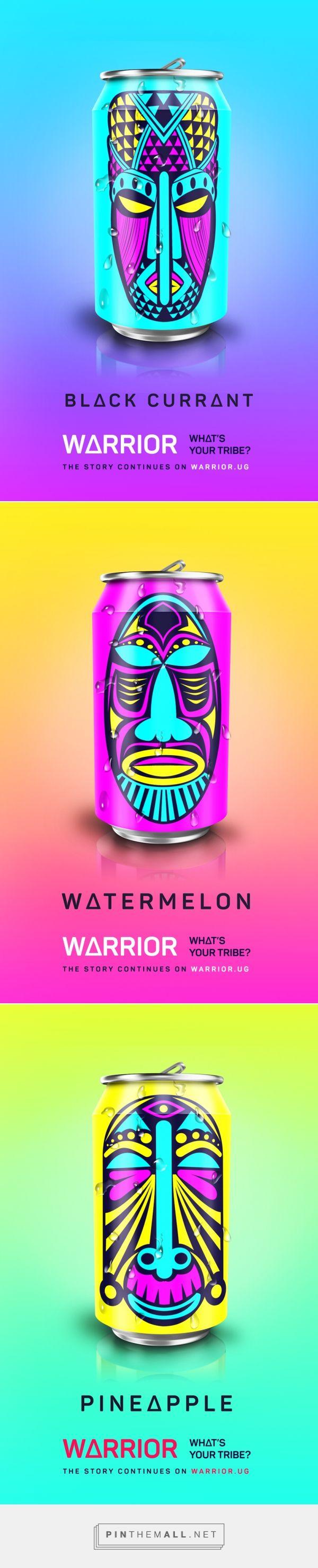 Warrior Energy Drink by Arnold Mugasha