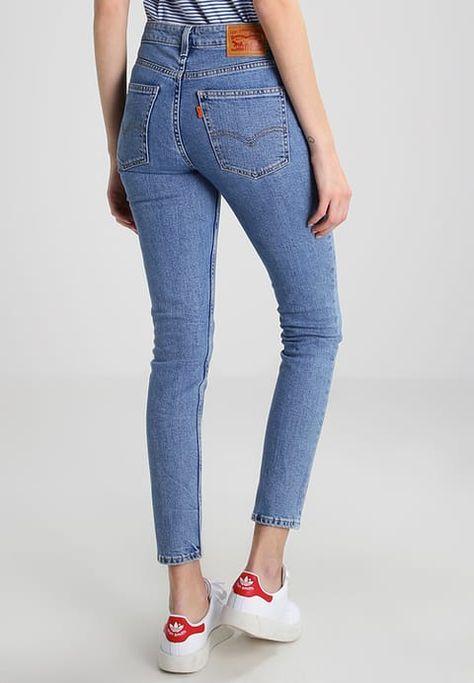 Levi s® ORANGE TAB - 721 VINTAGE HIGH RISE SKINNY - Jeans Skinny Fit -  watermark - Zalando.co.uk 1e3419bcabe