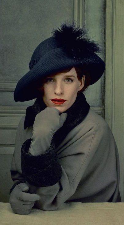 Eddie Redmayne as Lili Elbe in 'The Danish Girl' (2015). Costume Designer: Paco Delgado