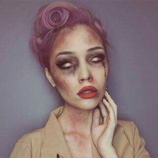 1000+ Ideas About Pretty Zombie Makeup On Pinterest | Pretty Zombie Zombie Makeup And Sexy ...