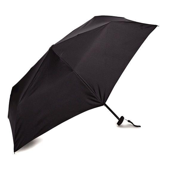 Samsonite Manual Flat Compact Umbrella in the color Black.
