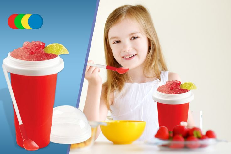 Instant Slushy Maker - 4 Colours!